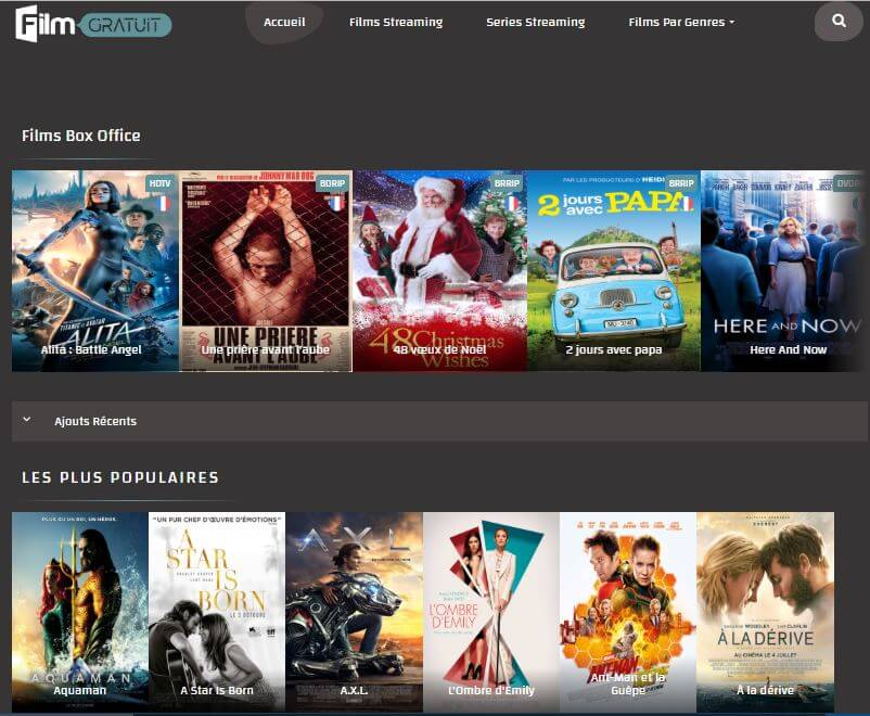 filmgratuit.net - site de streaming
