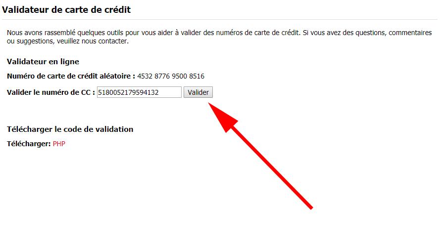 Carte Bancaire Non Valide.3 Generateurs De Numeros De Carte Bancaire Avec Cryptogramme